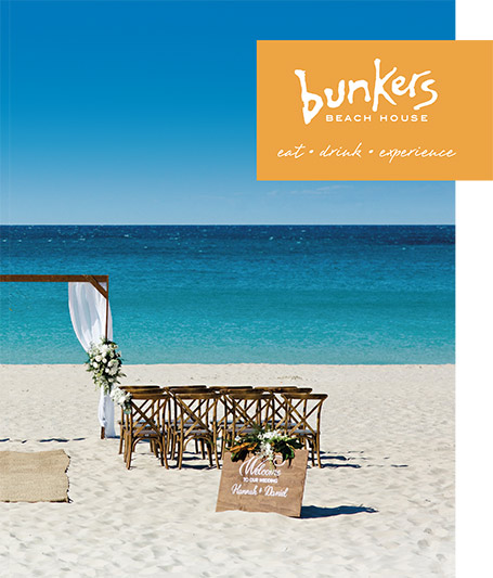 Bunkers Beach House for weddings, venue, ceremonies Dunsborough , Margaret River Yallingup Busselton