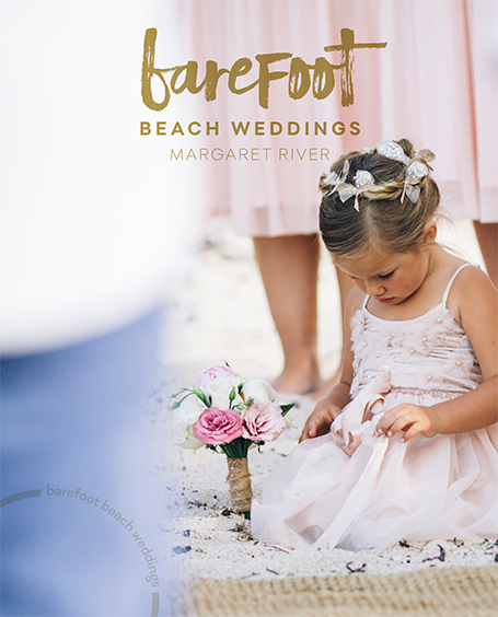 Barefoot Beach Weddings Gnarabup Margaret River