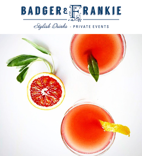 Badger&Frankie stylish drinks and private events in the Margaret River Region
