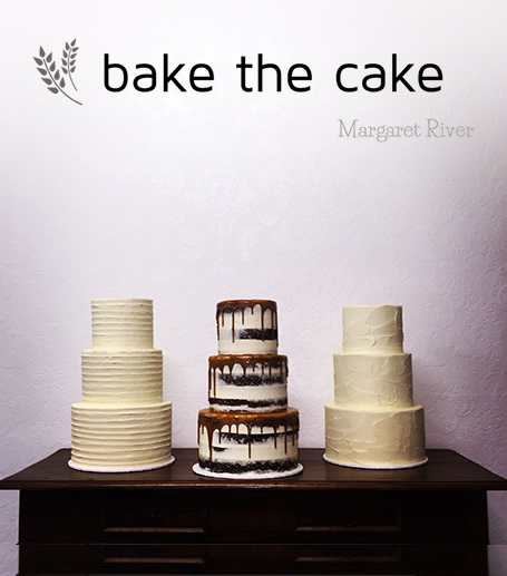 Bake The Cake, Margaret River Bride & Groom MRBG