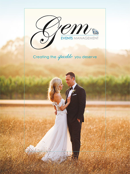 GEM Events Management weddings in Margaret River, Dunsborough, Yallingup, Busselton, Augusta, and the world.