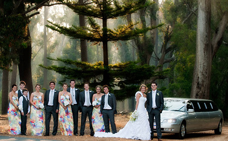 Down South Luxury Limousines weddings Margaret River South-West