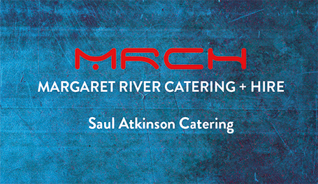 Saul Atkinson wedding catering and hire, Margaret River Catering + Hire
