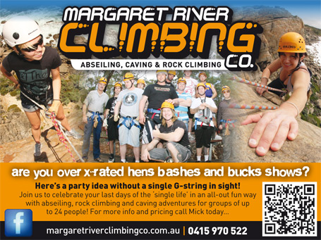 Margaret River Climbing Company tours