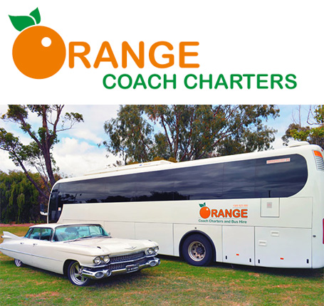 Orange Coach Charters wedding tours and charter hire for the Margaret River region