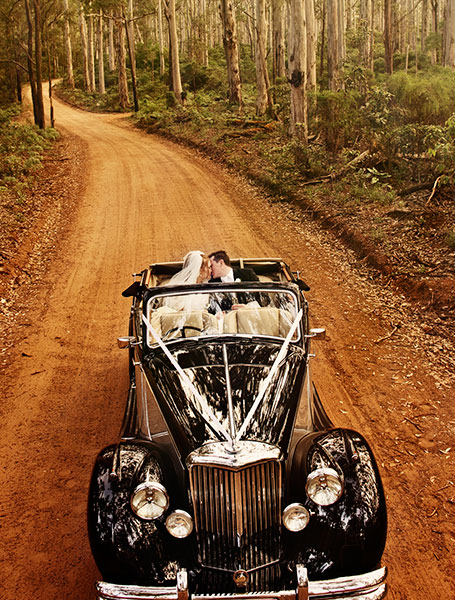 Wedding transport of the Margaret River region, Blakeney Photography