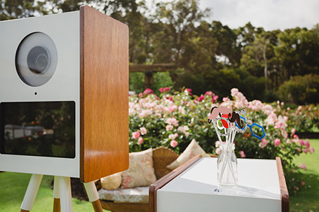 Retro Booth Margaret River weddings