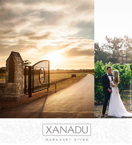 Xanadu Wines Margaret River venue weddings celebration