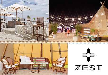 The Zest Group WA luxury tipi's and furniture in the Margaret River region