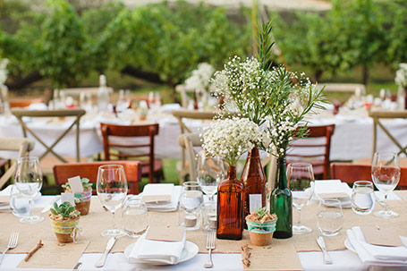 Aisle Style wedding stylist. florist and hire for a beautiful Margaret River wedding.