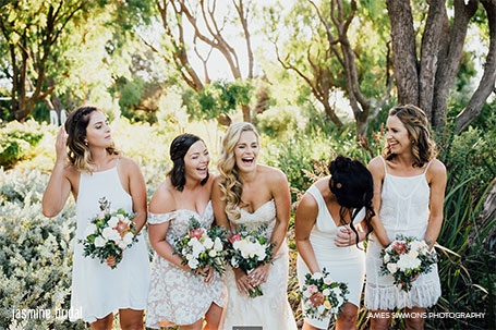 Jasmine Bridal Margaret River hair stylist and makeup artist