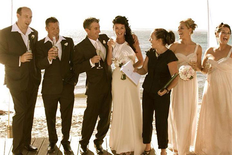 Laurissa Knowles CMC Marriage Celebrant weddings Margaret River MRBG