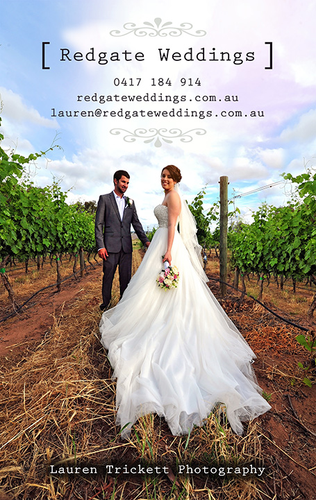 Redgate Weddings Margaret River by Lauren Trickett