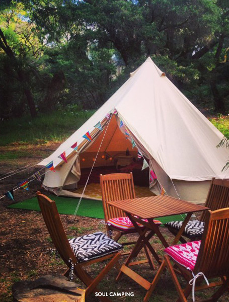 Accommodation Margaret River region camping accommodation