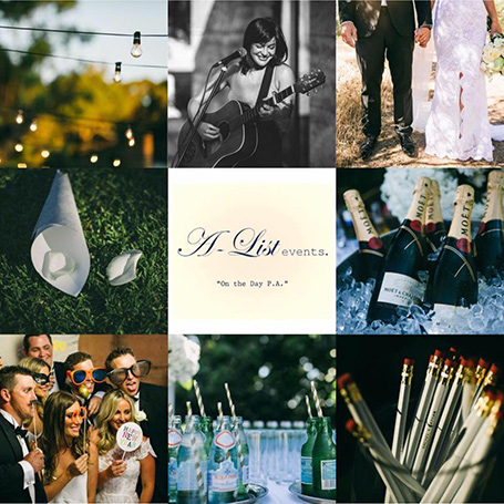 A List Events Margaret River wedding planner and PA