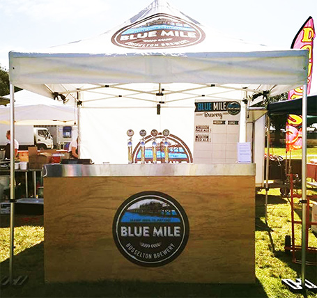 Blue Mile Pop Up Bar Margaret River region weddings and events