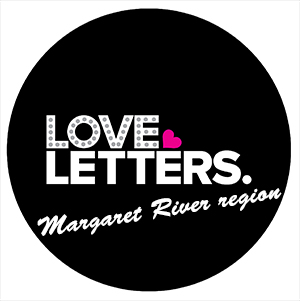 Love Letters Margaret River region