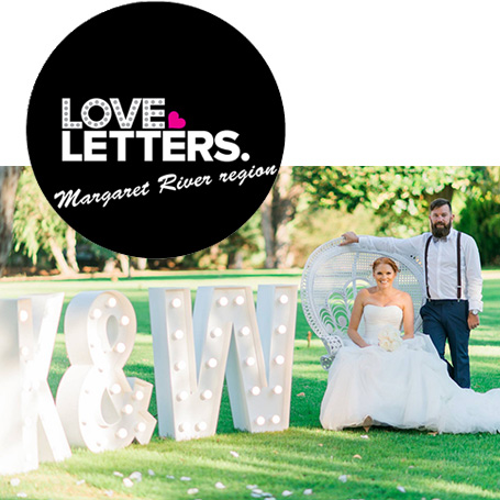 Love Letters of the Margaret River region