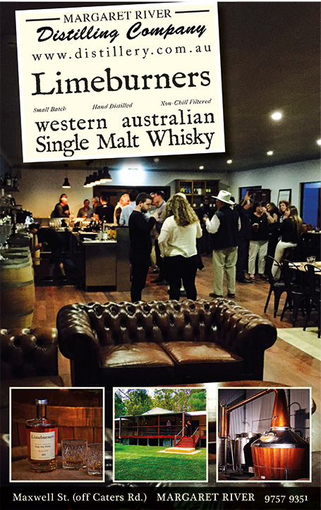 Margaret River Distilling Company whisky and other beverages of the Margaret River region