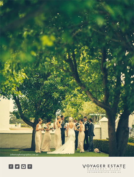 Voyager Estate weddings Margaret River region