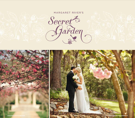 Margaret River's Secret Garden weddings