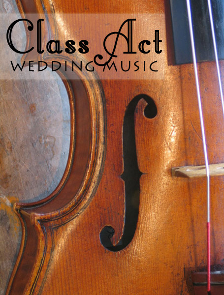 Class Act Wedding Music Margaret River region wedding musicians