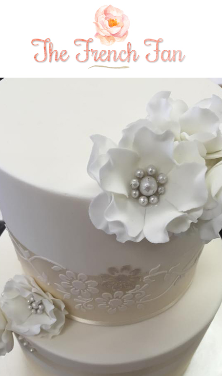 The French Fan Margaret River wedding cakes and sugar-art