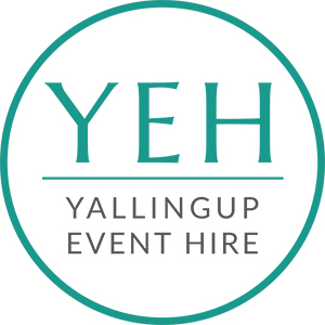 Yallingup Event Hire weddings and events, Margaret River region, Western Australia