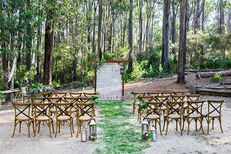 Dreamer & Collector Margaret River wedding hire and decor