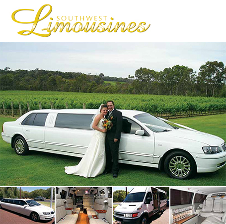 South West Limousines Margaret River wedding transport