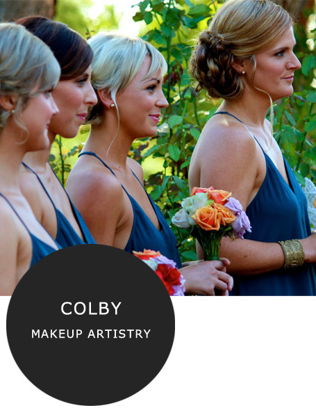 Colby Makeup Artistry Margaret River wedding stylists