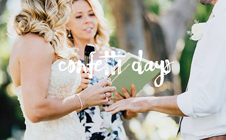 Confetti Days, Donna : Celebrant Margaret River celebrant, weddings in Busselton, Yallingup, Dunsborough South-West