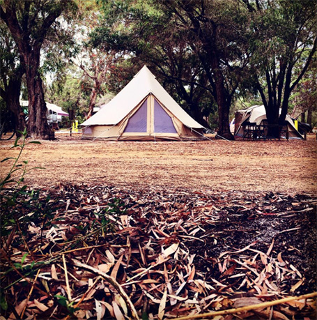 Wild Goose Camping weddings of the Margaret River region