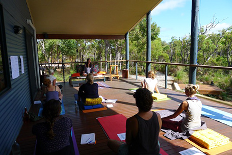 Grace Orchard Yoga Margaret River wedding retreat and wellness by Kate Christensen