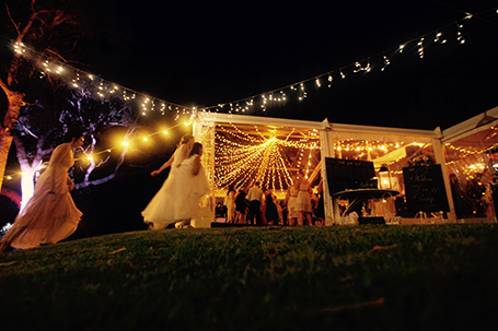 Southern Lights Events weddings MRBG Margaret River