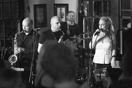 Midnight Soul is an exciting 8-piece band with an impressive 3-part horn section covering a diverse repertoire of popular funk, soul, motown, R&B & Jazz.