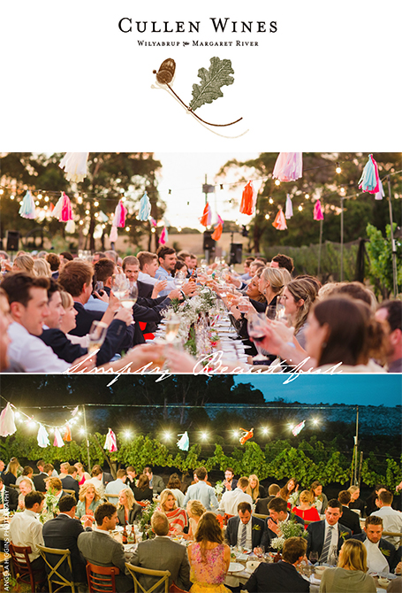 Cullen Wines private functions and weddings in the Margaret River region.