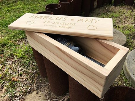Timber Grooves, personalised gifts and wedding hire, Margaret River, Busselton, Yallingup, Dunsborough