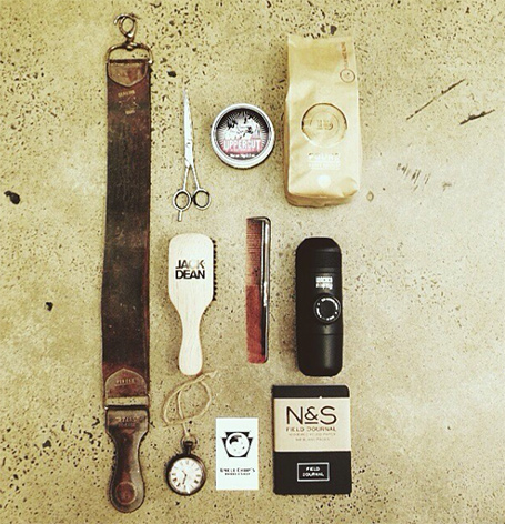 Uncle Chops Barbar Shop Margaret River inside Sugarman, groom and groomsmen cuts