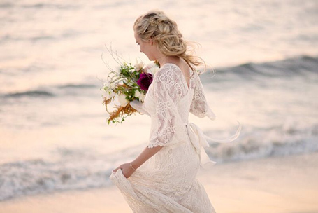 Through the White Door wedding gowns, bohemian and relaxed style, Fremantle Western Australia