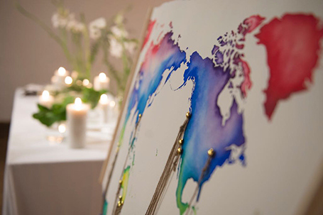 Watercolour Weddings stationery, Illustrations by Mieke