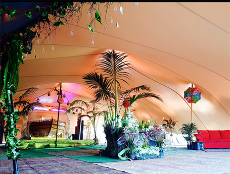 BOS Tents and Events stretch tents in the Margaret River Region, Balingup. mrbg.com.au wedding directory