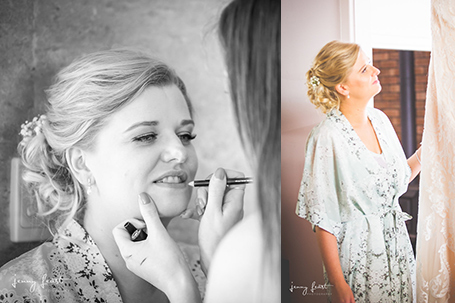 Beauty By The River wedding makeup artistry, Margaret River, freelance. Image by Jenny Feast Photography