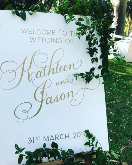 Kirstin Zan Events and weddings in Margaret River, Dunsborough, Yallingup, Busselton and anywhere in the world.