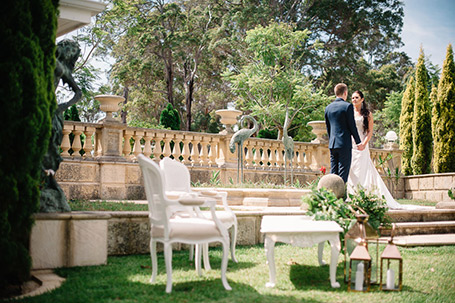 Penrose Estate, Margaret River wedding venue, vineyard and gardens.