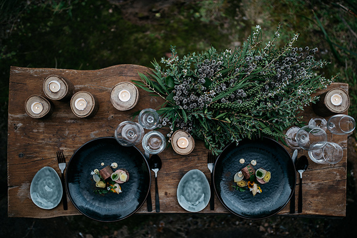 Food by the Chef editorial. Ines Pandzic Photography, as featured in the Margaret River Weddings Magazine 2017
