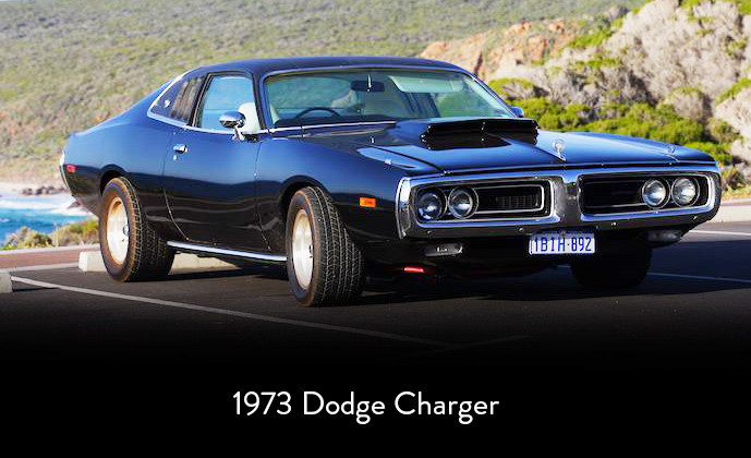 Down South Muscle Cars, weddings, Dodge Charger, Margaret River Western Australia